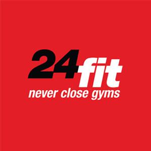 24 Fit gym logo
