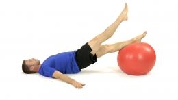 Stabilisation bridge for low back and core and hamstring Mt Barker Adelaide Physio Physiotherapist