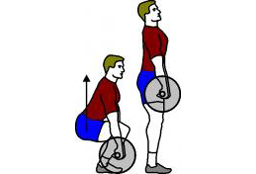 deadlift back pain with lifting